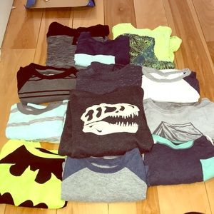 Shirts & Tops - Lot of boys tee's